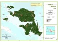Peta Sebaran Tutupan Hutan 2013 dan Perubahan Tutupan Hutan 2009 – 2013 Propinsi  Papua Barat