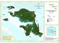 Peta Kondisi Tutupan Hutan di Lahan Gambut Propinsi  Papua Barat