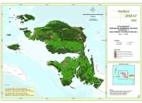 Peta Indikatif Penundaan Pemberian Izin Baru PIPPIB Rev. V dan Kondisi Tutupan Hutan 2013 Propinsi  Papua Barat