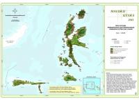 Peta Situasi Pemanfaatan dan Penggunaan Kawasan Hutan dan Lahan Propinsi  Maluku utara