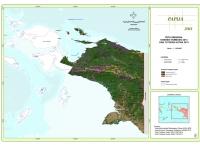 Peta Sebaran Konsesi Tambang 2013 dan Tutupan Hutan 2013 Propinsi Papua