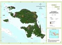 Peta Sebaran Konsesi Tambang 2013 dan Tutupan Hutan 2013 Propinsi  Papua Barat