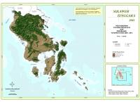 Peta Sebaran Tutupan Hutan 2013 dan Perubahan Tutupan Hutan 2009 – 2013 Provinsi  Sulawesi Tenggara