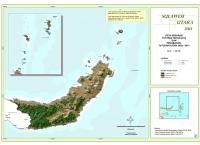 Peta Sebaran Tutupan Hutan 2013 dan Perubahan Tutupan Hutan 2009 – 2013 Provinsi  Sulawesi Utara