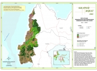 Peta Situasi Pemanfaatan dan Penggunaan Kawasan Hutan dan Lahan Provinsi  Sulawesi Barat