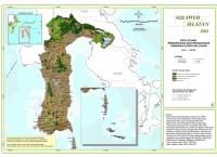 Peta Situasi Pemanfaatan dan Penggunaan Kawasan Hutan dan Lahan Provinsi  Sulawesi Selatan
