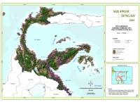 Peta Sebaran Konsesi Tambang 2013 dan Tutupan Hutan 2013 Provinsi  Sulawesi Tengah