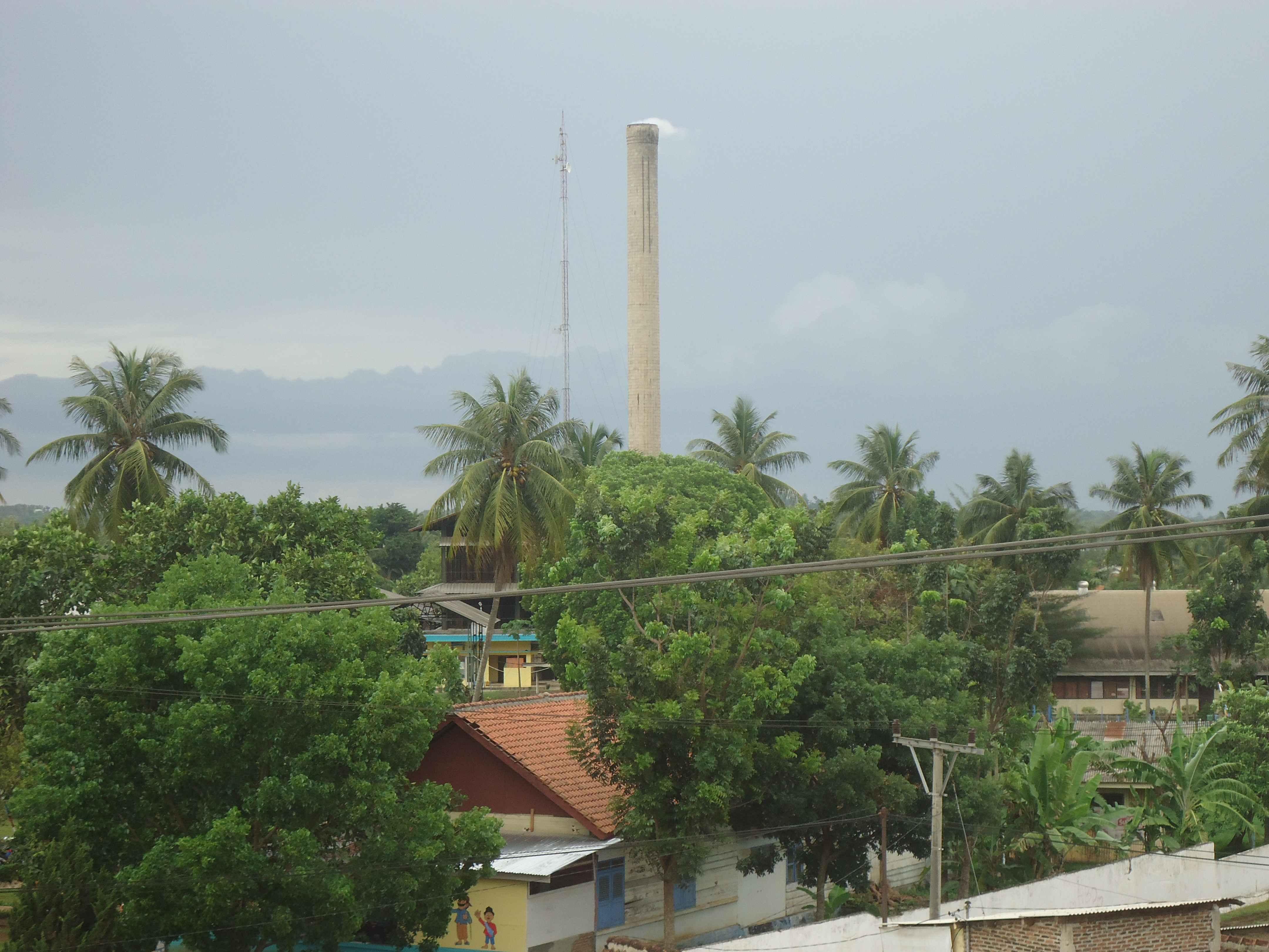 Pabrik Pengelolaan Sumber Daya Alam Getah Karet Di Provinsi Lampung Yang Tidak Ramah Lingkungan