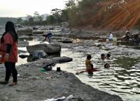Sumber air di Desa Sukaresmi – Bogor