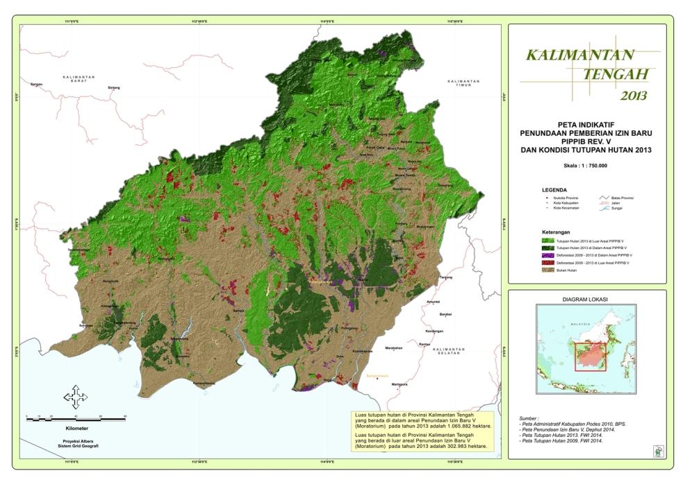 Moratorium Kalimantan Tengah 2014