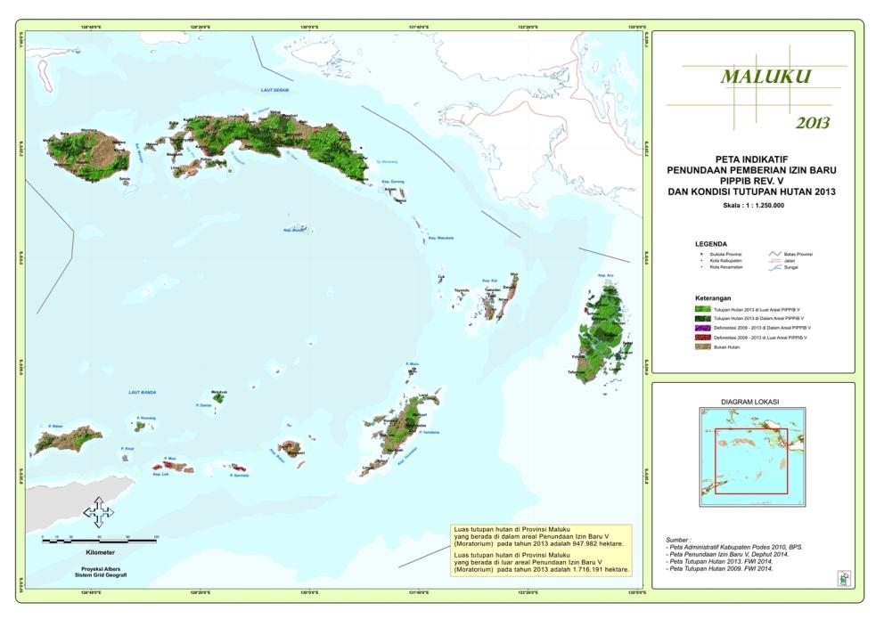 Moratorium Maluku 2014