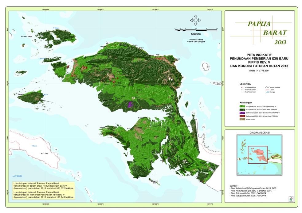 Moratorium Papua Barat 2014