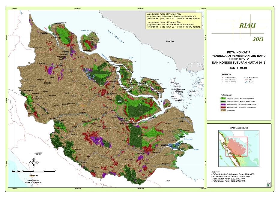 Moratorium Riau 2014