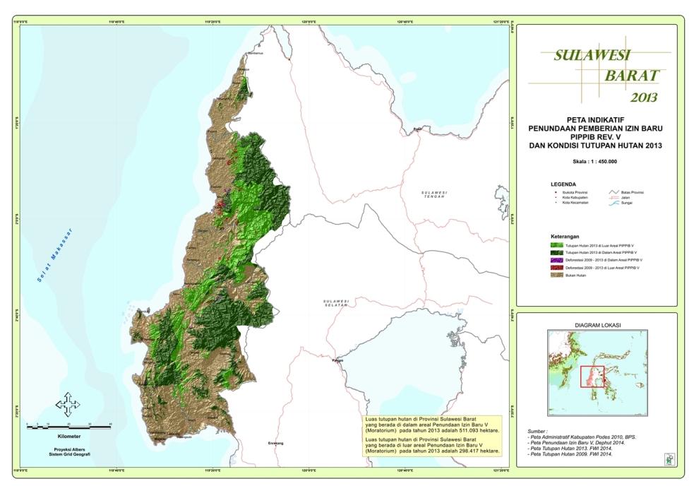 Moratorium Sulawesi Barat 2014