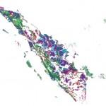 Peta Perubahan tutupan Hutan Sumatera 1985-2006