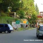 Hilangnya Fungsi Kawasan Lindung di Puncak Bogor