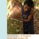 Menoreh Karet di Pinggiran Hutan Alam Sungai Utik, dan Harapan atas Kehidupan Lebih Baik