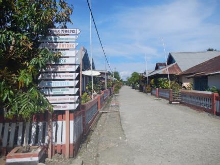 Gambar 2. Suasana Desa Banemo, Kecamatan Patani Barat .