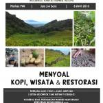 Ngaso – Wisata, Kopi, dan Restorasi