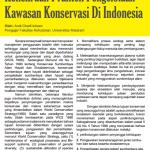Kekeliruan Praktek Pengelolaan Kawasan Konservasi Di Indonesia