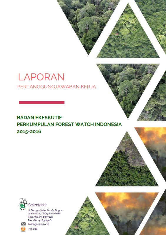 Laporan Pertanggungjawaban Kerja Badan Pengurus FWI Periode 2015-2016