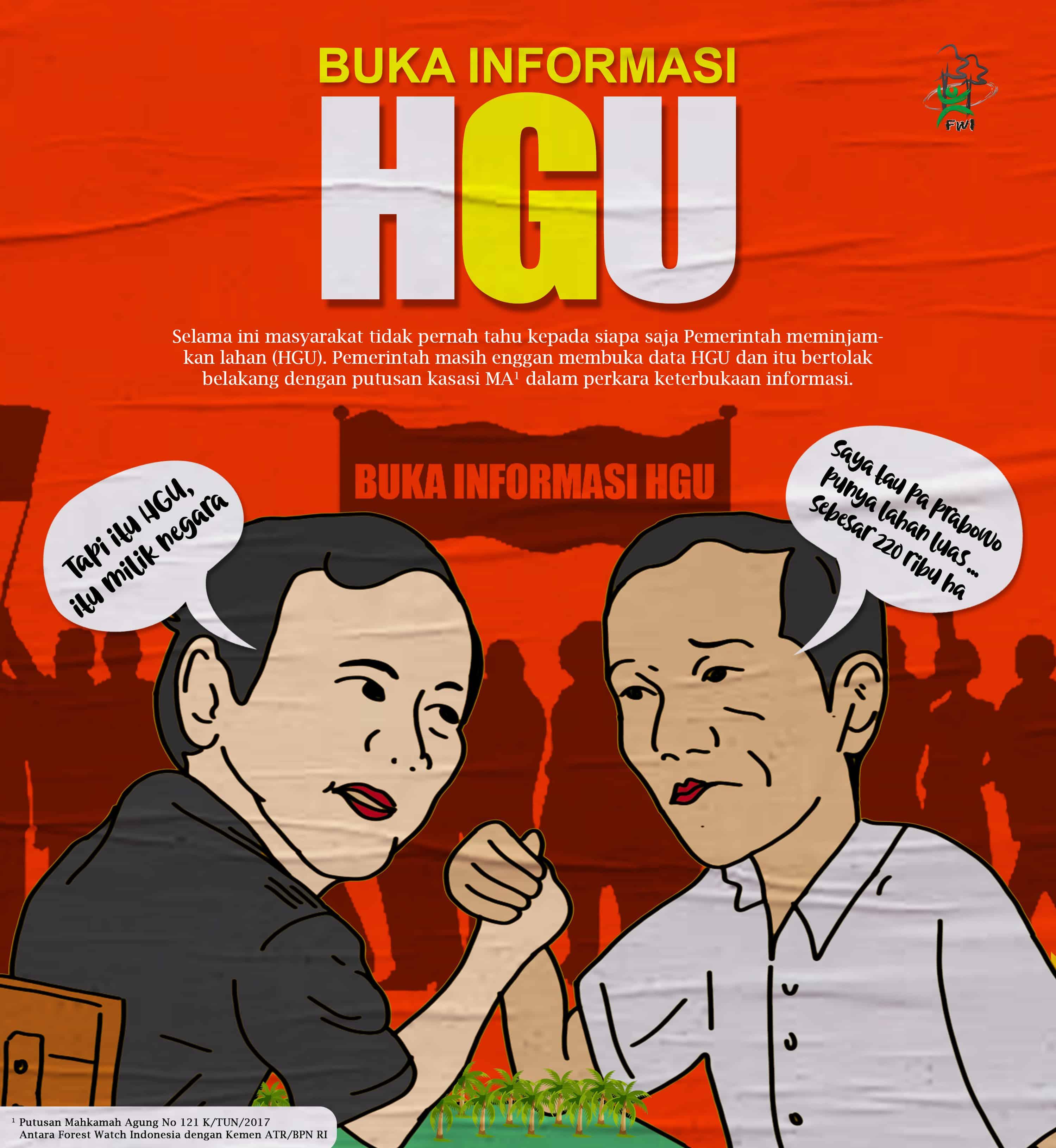 BALADA HGU DALAM PILPRES 2019: INFORMASI HGU JANGAN SEKEDAR JADI DAGANGAN POLITIK