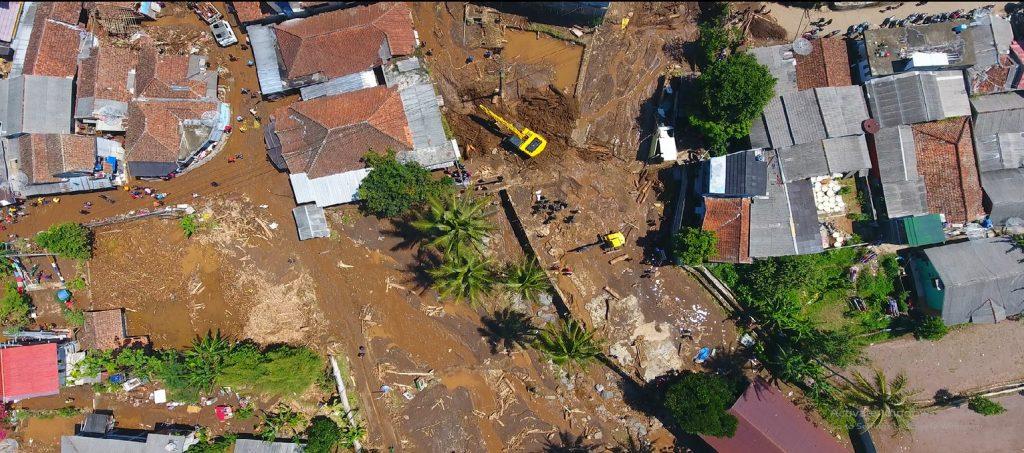 Banjir di Cicurug, Sukabumi, Jabar